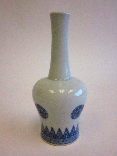14: Chinese blue & white vase