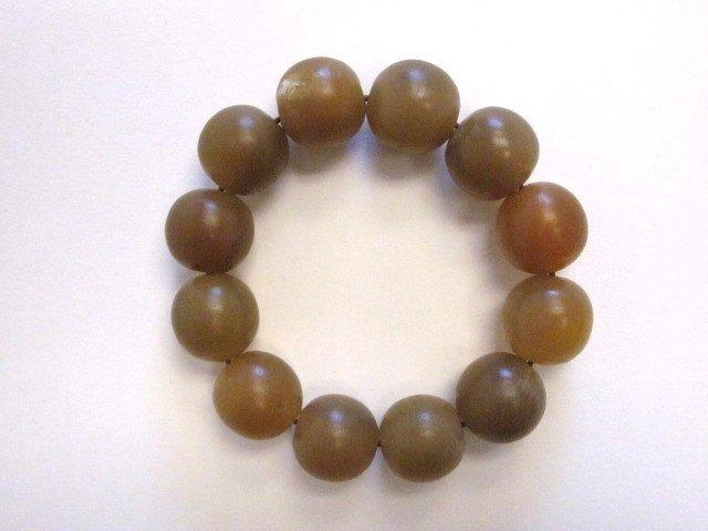 22: Rhino horn beaded bracelet