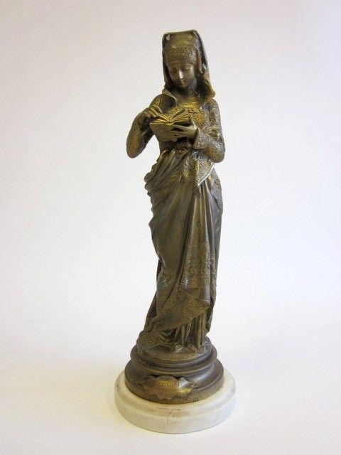 Dore bronze signed A. Carrier Belleuse