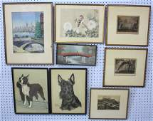 506: Group lot of assorted artwork