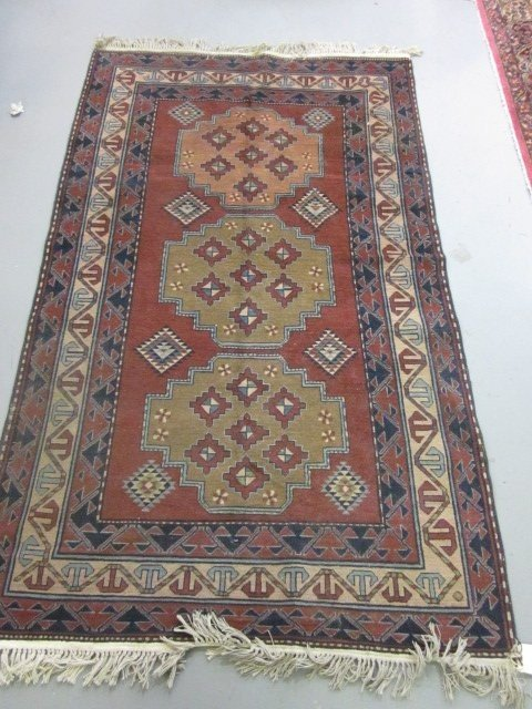 1000A: Mid century Persian rug