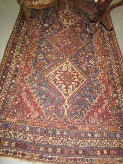 1005A: Antique Gashgai rug