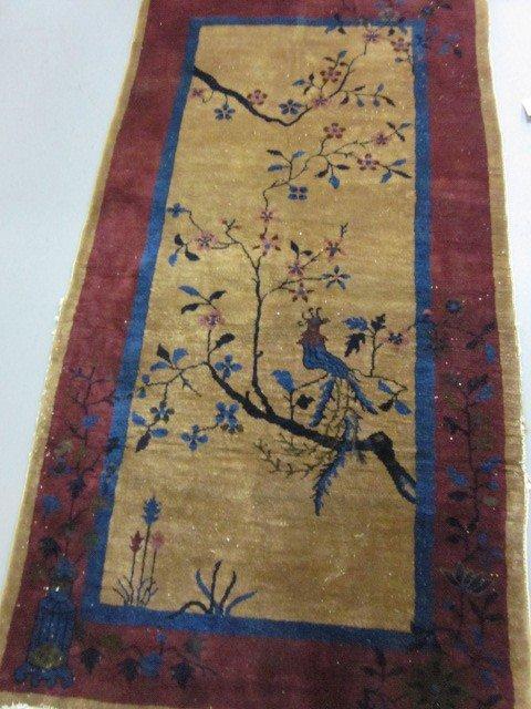 1009A: Antique Art Deco rug