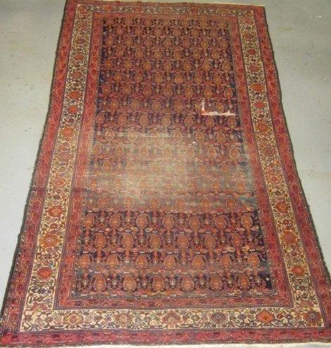 2: Antique Oriental rug