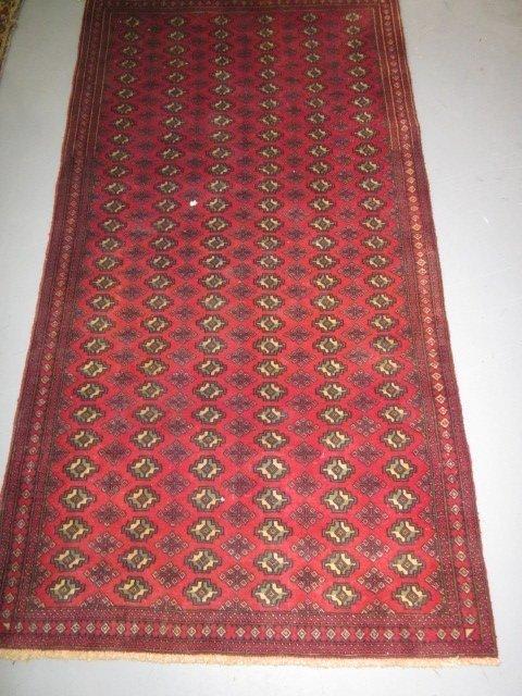 6: Persian red Bukara rug