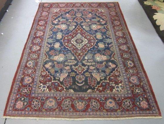 7: Persian Kashan rug ca. 1930's