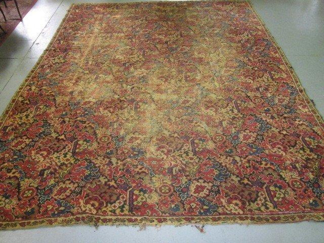 10: Antique European rug