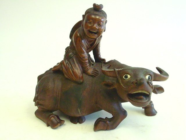 15: Carved Chinese boxwood