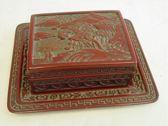 25: Rare Jiaqing lacquer box