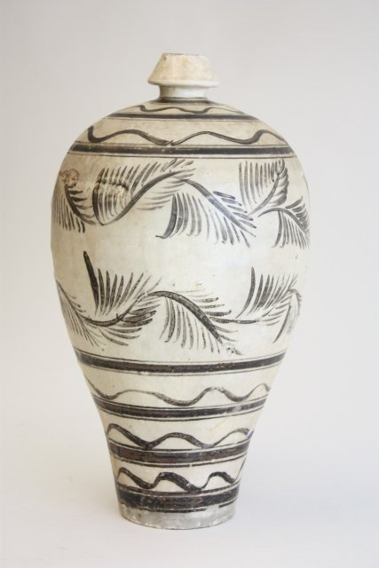 719: Mei Ping Song Dynasty pottery vase