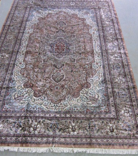 3: Silk & wool rug