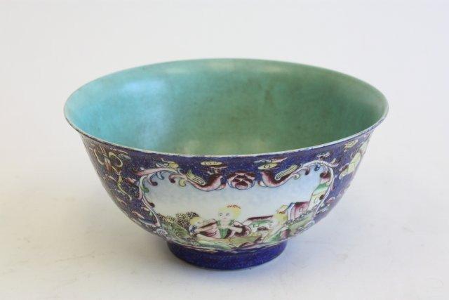 20: Qianlong Famille Rose bowl