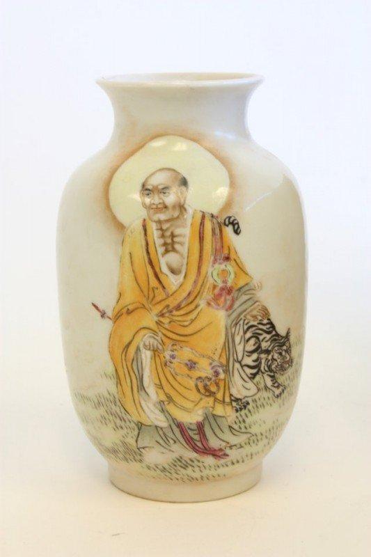 24: Exceptional elegant porcelain jar