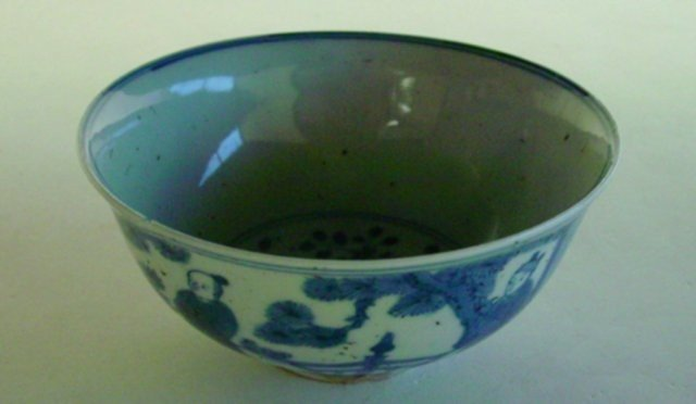 """27: Ming Wanli bowl depicting """"Group of Children"""""""