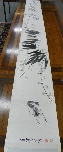 13: Chinese scroll after Chi Bai Shi