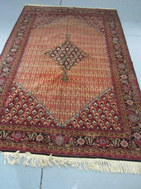 3: Persian handmade rug artist signed