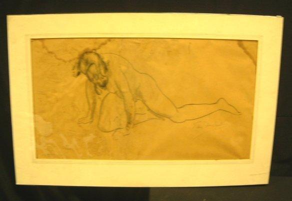 11: NUDE FEMALE SIGNED EDMUND F. WARD