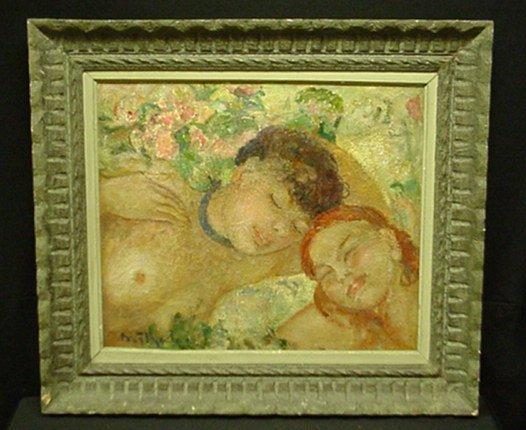 19: O/C TWO WOMEN SLEEPING