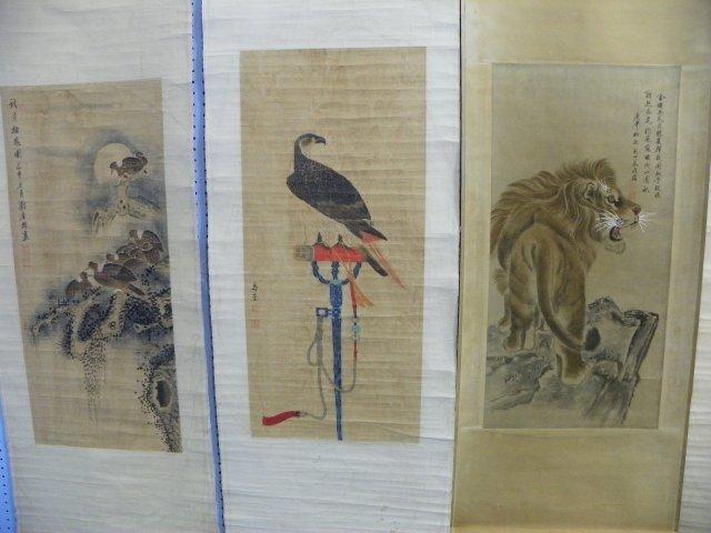 1220: 3 Chinese scrolls