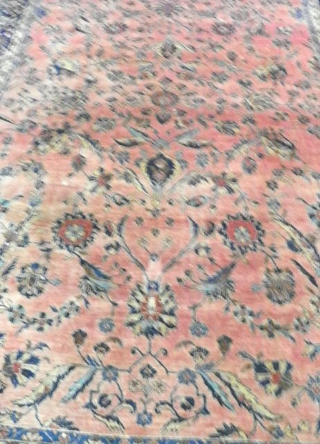 1B: Great quality red Kashan rug ca. 1920's