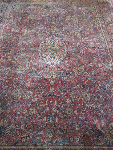 5: Old Persian Sarouk Rug