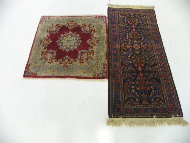 5A: Persian carpet & Kerman rose scatter rug