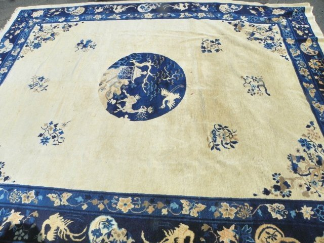 6A: Chinese Art Deco area rug