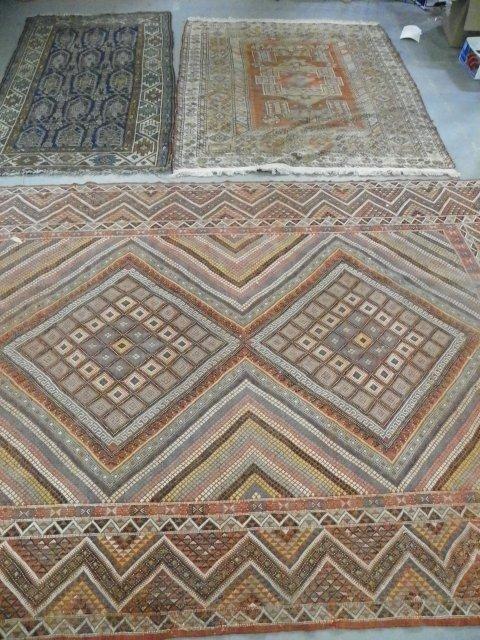 8: 3 handmade rugs