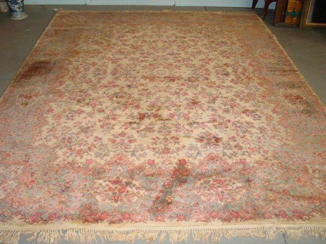 8A: Ivory Karastan rug