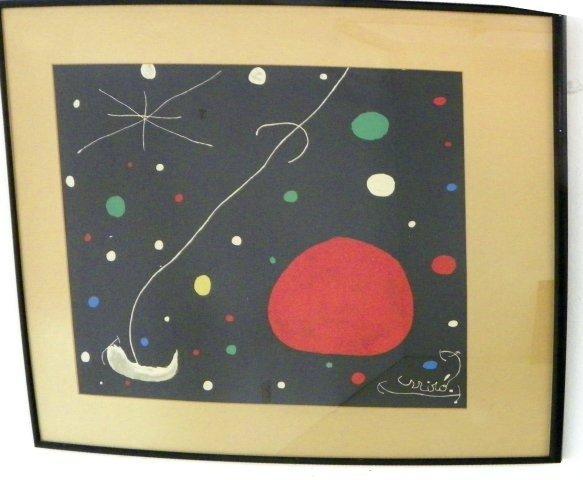 1011: Joan Miro print