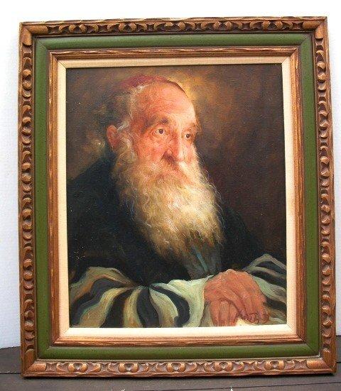 1104: Portrait of a Rabbi oil painting