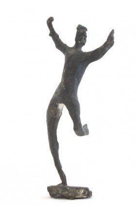 Attributed To Giacometti Bronze Sculpture