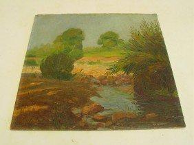 Southwest Landscape Oil Painting