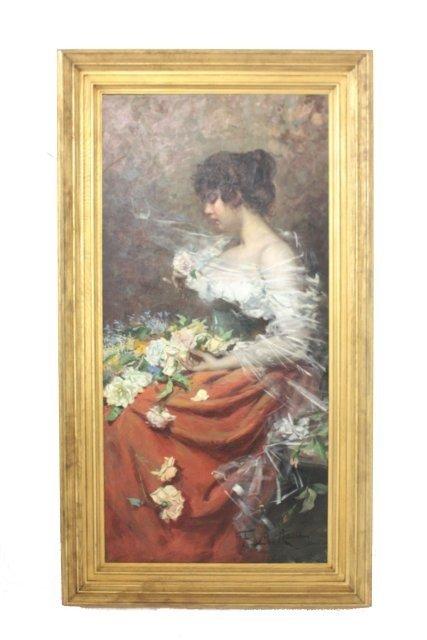 1230: Fabian De La Rosa oil painting