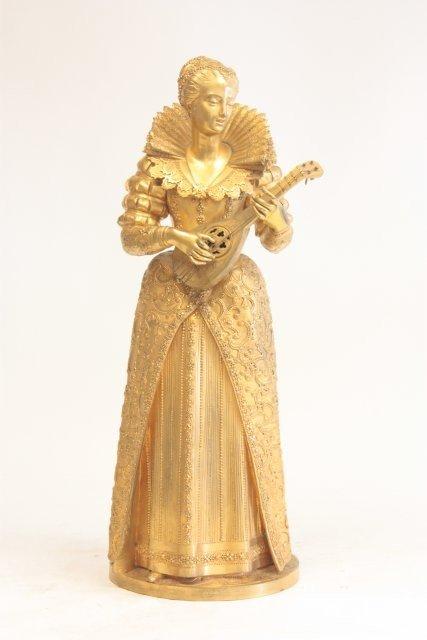 1270: A. Carrier Bronze Queen Elizabeth