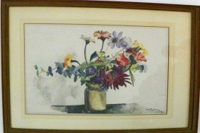 Hayley Lever Floral Still Life Watercolor