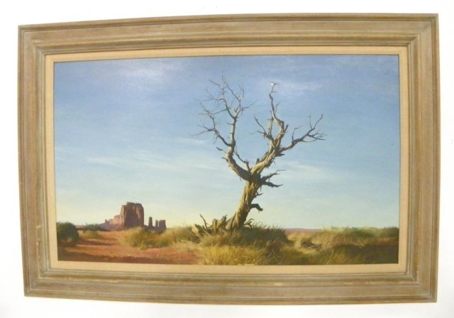 1356: Alan Price The Sentinel oil painting