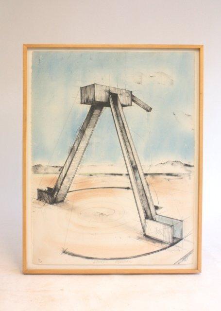1197: Modern lithograph