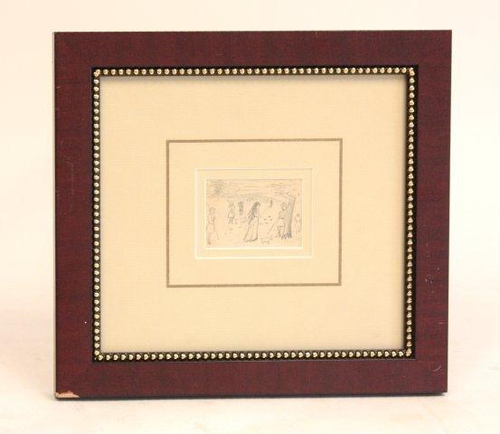 1079: William Harnett drawing