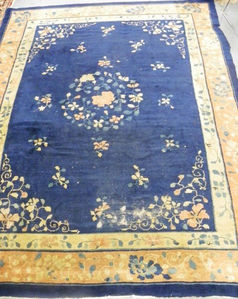 2007A: Blue Chinese rug