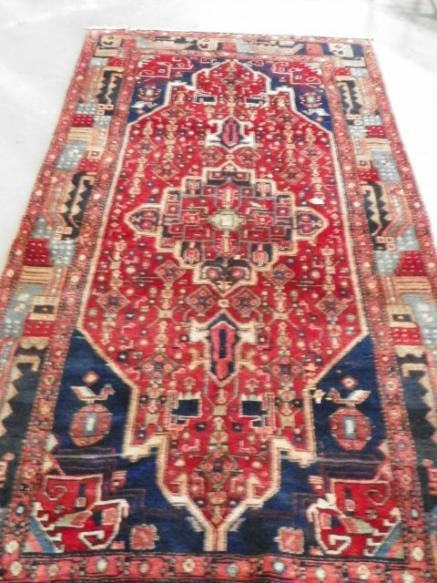 2A: Old Oriental rug