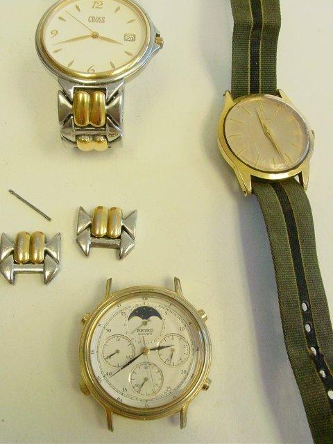 1045: 3 men's watches - 2