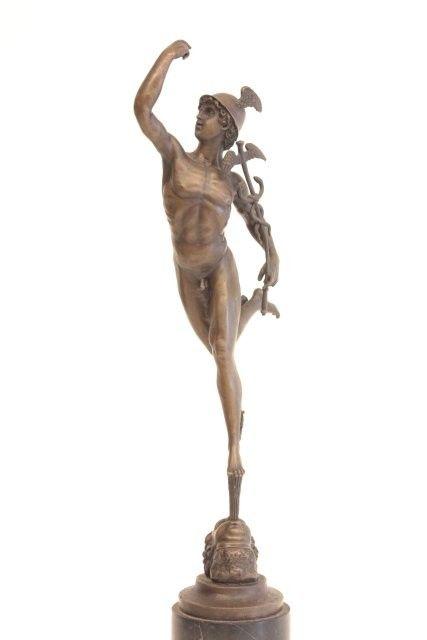 "Bronze figure of ""Mercury"""