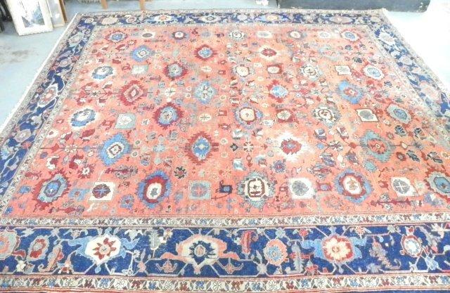 3: Heriz Persian rug