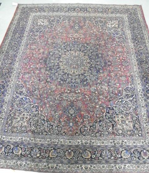 4: Meschad antique Oriental rug