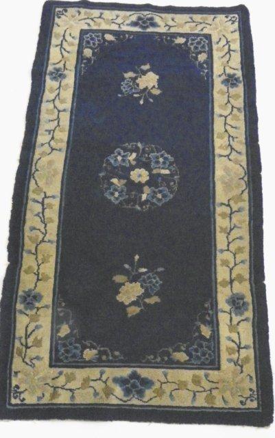 7: Antique Peking Chinese rug