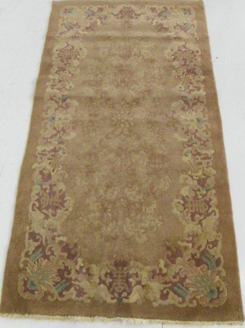 9: Chinese Art Deco rug