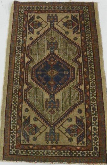 16: Antique Sarab rug