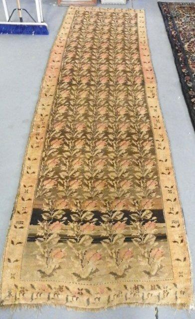 17: Antique Karabagh Caucasian rug