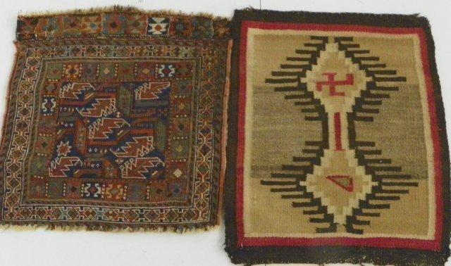 19: 2 Antique rugs